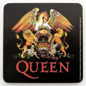 Queen - 'Crest' Drinks Coaster